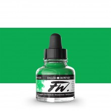 Daler Rowney : FW Artists' Ink : 29.5ml : Emerald Green