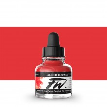 Daler Rowney : FW Artists' Ink : 29.5ml : Flame Red