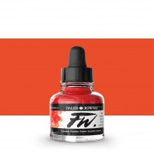 Daler Rowney : FW Artists' Ink : 29.5ml : Scarlet