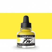 Daler Rowney : FW Artists' Ink : 29.5ml : Lemon Yellow