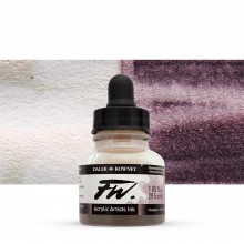 Daler Rowney : FW Artists' Ink : 29.5ml : Shimmering Red (Interference)