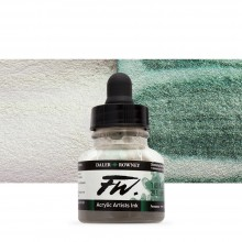 Daler Rowney : FW Artists' Ink : 29.5ml : Shimmering Green (Interference)