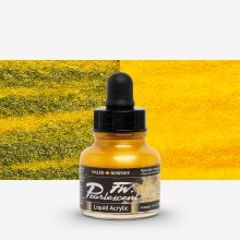 Daler Rowney : FW Artists' Ink : 29.5ml : Pearl Mazuma Gold