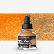 Daler Rowney : FW Artists' Ink : 29.5ml : Pearl Sun Orange