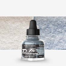 Daler Rowney : FW Artists' Ink : 29.5ml : Pearl White Pearl