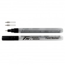 Daler Rowney : FW Mixed Media Paint Marker : Technical 0.8mm : Pack of 2 & Nibs