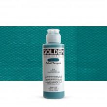 Golden : Fluid : Acrylic Paint : 119ml (4oz) : Cobalt Turquoise