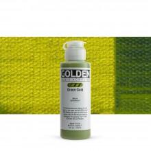 Golden : Fluid : Acrylic Paint : 119ml (4oz) : Green Gold