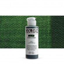 Golden : Fluid Acrylic Paint : 119ml (4oz) : Jenkins Green