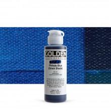 Golden : Fluid Acrylic Paint : 119ml (4oz) : Phthalo Blue Green Shade