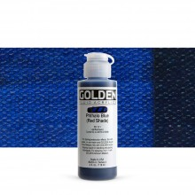 Golden : Fluid Acrylic Paint : 119ml (4oz) : Phthalo Blue Red Shade