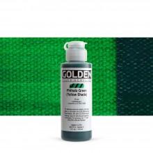 Golden : Fluid : Acrylic Paint : 119ml (4oz) : Phthalo Green Yellow Shade