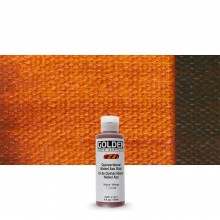 Golden : Fluid : Acrylic Paint : 119ml (4oz) : Quinacridone / Nickel Azo Gold
