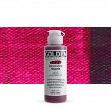Golden : Fluid : Acrylic Paint : 119ml (4oz) : Quinacridone Magenta