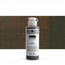 Golden : Fluid : Acrylic Paint : 119ml (4oz) : Raw Umber