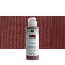 Golden : Fluid : Acrylic Paint : 119ml (4oz) : Violet Oxide