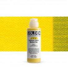 Golden : Fluid : Acrylic Paint : 119ml (4oz) : Cadmium Yellow Medium Hue
