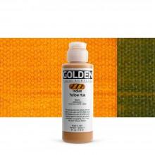 Golden : Fluid Acrylic Paint : 119ml (4oz) : Indian Yellow Hue