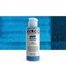 Golden : Fluid : Acrylic Paint : 119ml (4oz) : Manganese Blue Hue