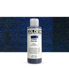Golden : Fluid : Acrylic Paint : 119ml (4oz) : Prussian Blue Hue