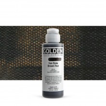 Golden : Fluid Acrylic Paint : 119ml (4oz) : Van Dyke Brown Hue