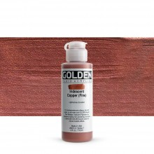 Golden : Fluid Acrylic Paint : 119ml (4oz) : Copper Fine Iridescent