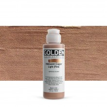 Golden : Fluid : Acrylic Paint : 119ml (4oz) : Copper Light Fine Iridescent
