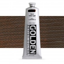 Golden : Heavy Body Acrylic Paint : 150ml : Burnt Umber Light