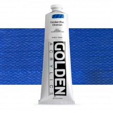 Golden : Heavy Body Acrylic Paint : 150ml : Cerulean Blue Chromium