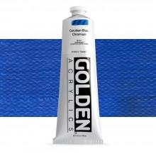 Golden : Heavy Body : Acrylic Paint : 150ml : Cerulean Blue Chromium