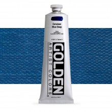 Golden : Heavy Body : Acrylic Paint : 150ml : Cerulean Blue Deep