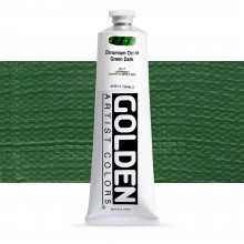 Golden : Heavy Body : Acrylic Paint : 150ml : Chromium Oxide Green Dark