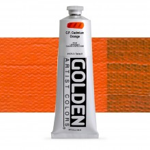 Golden : Heavy Body Acrylic Paint : 150ml : Pure Cadmium Orange