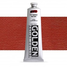 Golden : Heavy Body Acrylic Paint : 150ml : Pure Cadmium Red Dark