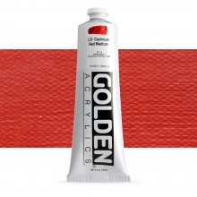 Golden : Heavy Body Acrylic Paint : 150ml : Pure Cadmium Red Medium