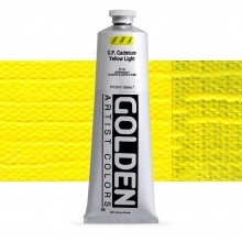 Golden : Heavy Body Acrylic Paint : 150ml : Pure Cadmium Yellow Light