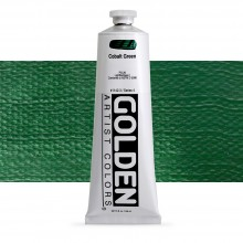 Golden : Heavy Body Acrylic Paint : 150ml : Cobalt Green