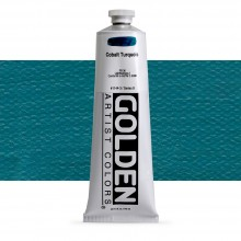 Golden : Heavy Body Acrylic Paint : 150ml : Cobalt Turquoise