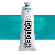 Golden : Heavy Body Acrylic Paint : 150ml : Cobalt Teal
