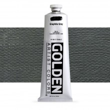 Golden : Heavy Body : Acrylic Paint : 150ml : Graphite Grey
