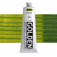 Golden : Heavy Body : Acrylic Paint : 150ml : Green Gold