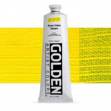 Golden : Heavy Body : Acrylic Paint : 150ml : Hansa Yellow Opaque