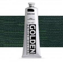 Golden : Heavy Body : Acrylic Paint : 150ml : Jenkins Green