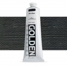 Golden : Heavy Body Acrylic Paint : 150ml : Mars Black