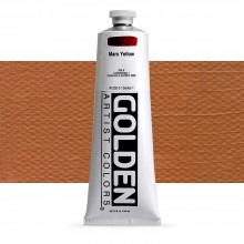 Golden : Heavy Body Acrylic Paint : 150ml : Mars Yellow