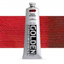 Golden : Heavy Body Acrylic Paint : 150ml : Naphthol Red Medium