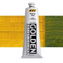 Golden : Heavy Body Acrylic Paint : 150ml : Nickel Azo Yellow