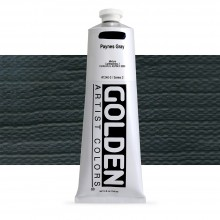 Golden : Heavy Body Acrylic Paint : 150ml : Paynes Grey