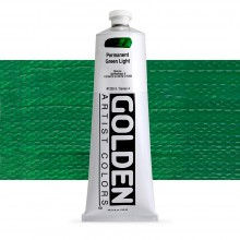 Golden : Heavy Body Acrylic Paint : 150ml : Perm Green Light