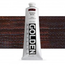 Golden : Heavy Body Acrylic Paint : 150ml : Permanent Maroon